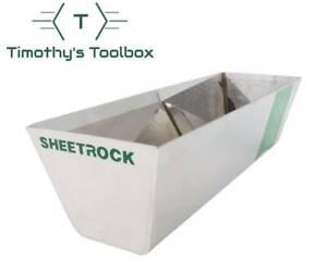 "USG Sheetrock Classic 12"" Stainless Steel Drywall Mud Pan"
