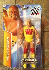 Mattel WWE HULK HOGAN figure Walmart Superstar Entrances 2015 Hulk Rules Shirt