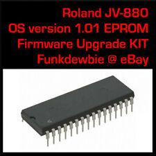 Roland JV-880 OS v1.01 EPROM Firmware Upgrade KIT / New ROM Update Chip