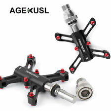 AGEKUSL Bike Pedals Quick Release For Brompton Folding Bicycle 3 Sealed Bearings