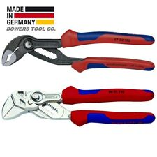 """Knipex 7-1/4"""" Cobra & Adjustable Pliers Wrench Set w Comfort Grip Handles"""