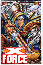 Marvel Comics X-FORCE 1996 #50 VF- Rob Liefold Variant Gatefold wraparound cover