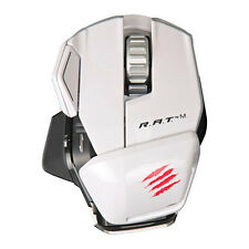 Mad Catz R.A.T. M GameSmart Laser Mouse, 6400dpi Twin-Eye, Bluetooth 4.0, 7 Butt
