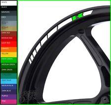 Kawasaki Wheel Rim Stickers Decals - 20 Colors - ninja zx6r zx10r er6 versys z