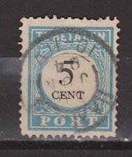 Port nr.6 cancel HAARLEM gestempeld used NVPH Nederland due portzegel