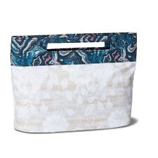 NWT Sonia Kashuk Modern Pouch Makeup Bag - Asian Floral Cosmetic Organizer