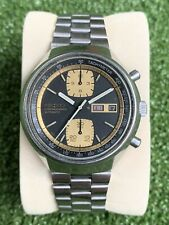 SEIKO JOHN PLAYER 6138-8030 BABY-KAKUME automatic vintage watch. GOOD CONDITION!