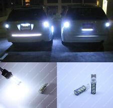 2x HID White LED Backup Reverse Light Bulbs T10 168 194 912 921 For Back Up Lamp