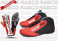 Birel art Karting shoes with kart race gloves bundle offer best price
