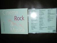 CD AUDIO: CINEMA & MUSICA ROCK - L'UNITA' INIZIATIVE EDITORIALI -