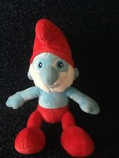 "BUILD A BEAR PAPA SMURF- THE MOVIE -10"" PLUSH SOFT TOY- 2011 LOVELY CONDITION"