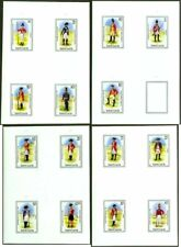 St. Lucia 1985 Military Uniforms COMPOSITE PROOF SHEETS