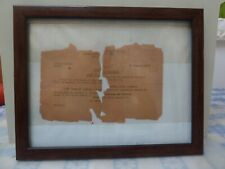 Us Army Bronze Star Medal Award Certificate Ww2 France Luxembourg Germany 1943