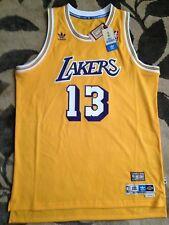 5ef34509 Authentic Adidas LA Lakers Wilt Chamberlain 13 Hardwood Classic Jersey Gold  3XL