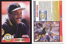 Lot of 12 Barry Bonds, MVP, Score 91 #876 MLB 1991 Baseball cards NM/Mint