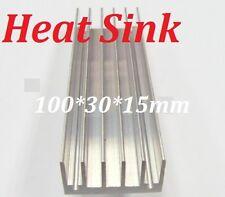 100*30*15mm Heatsink Aluminum Heat Sink for LED, Power IC Transistor, Module PBC