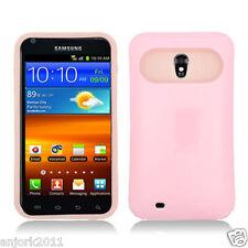 Sprint Samsung Galaxy S2 4G D710 R760 Hybrid Case Skin Pastel Cover Light Pink