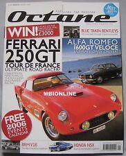 Octane 01/2006 featuring Ferrari 250GT, Alfa Romeo, BRM V16, Honda NSX, Jaguar