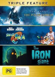 The Iron Giant  / Polar Express  / Space Jam