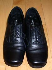 Walking Cradles Wms Bk Leather Comfort Shoes 8.5 N
