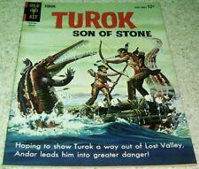 Turok Son of Stone 37 VF+ (8.5) 1964 High Grade GoldKey File Copy 40% off Guide!