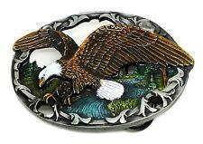 AQUILA Fibbia della Cintura American Western a tema Bird Authentic Fibbie J C & prodotto