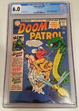 DOOM PATROL #99 (1965 DC) CGC 6.0 C/OW* 1ST APP OF BEAST BOY (GARFIELD LOGAN)*