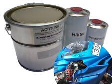 1 Liter Set 2K Autolack Skyline Blue 2 Metallic kein Klarlack Trend Lackpoint