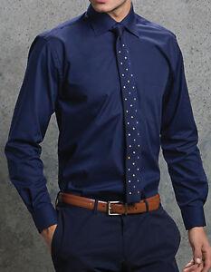 Herren Hemd Langarm Popelin S M L XL XXL 3XL 4X 5XL Übergröße Businesshemd