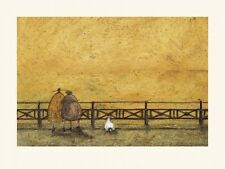 SAM TOFT A ROMANTIC INTERLUDE Mounted Print 30x40cm