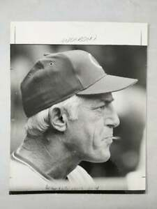 ORIGINAL 11 x 14  SPORTING NEWS PHOTO OF HALL OF FAMER SPARKY ANDERSON