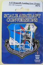 A-37 Dragonfly Landing Gear for 1/48th Scale Trumpeter Model SAC 48276