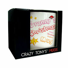 Grannies Personalised Christmas Mug Granny's Gift Boxed Christmas Present Idea
