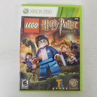 LEGO Harry Potter: Years 5-7 (Microsoft Xbox 360) NO Manual Fast Shipping