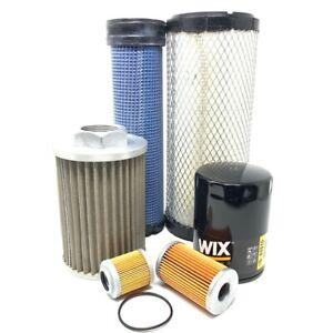CFKIT Maintenance Filter Kit for/Kubota KX121-3 Mini Excavator