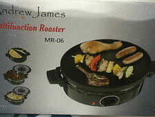Andrew James MR-06 Compatto Portatile 3-in-1 multifuntional Casseruola GRILL PAN (N)