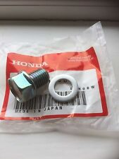 Genuine Honda Sump Plug & Washer Z50  ST70 Monkey Bike Dax C50 Chaly Dax C90 Cub