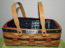 Longaberger Proudly American 2004 Bee Basket Liner Protector Combo Set