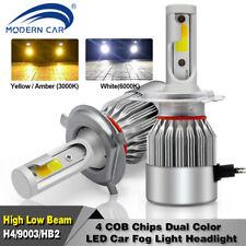 H4 120W 10800LM LED Headlight Conversion Kit Hi-Lo Dual Colour For VW/Toyota/Kia