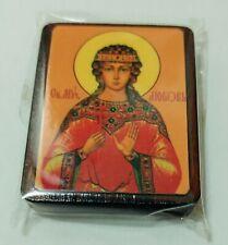 "Saint martir Love (Agape) small size 2""x1,5""  5cm x 4cm св.муч Любовь"