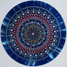disc-mandala 14 / vinyl record mandala art handmade painting