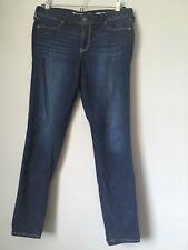 Hollister Low Rise Jean Legging Dark Wash size 7R 28x28