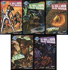 20 Million Miles More Comic Ultimate Set 1-2-3-4 Lot + Rare Variant Harryhausen