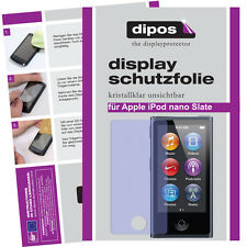 2x Apple iPod Nano Slate 7G Schutzfolie klar Displayschutzfolie unsichtbar