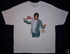 ROD STEWART Rockin' In The Round Tour 2007 Size 2XL White T-Shirt