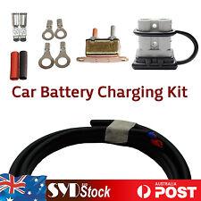 Car Trailer Caravan Charging Kit 50A Anderson Plug 6M 6mm2 Cable Circuit Breaker