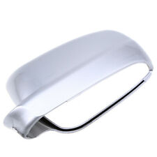 Left Driver Side Rearview Mirror Cover Cap Lens Silver Fit For VW Golf/Jetta MK4
