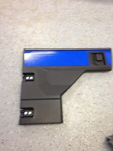 KAWASAKI PRO FXT 6 SEATER LEFT FRONT DOOR 55020-0936-6Z BLUE HANDLE AND HINGES