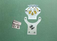 Stainless Steel Bracket & Screws to fit CLASSIC AA MOTORCYCLE BADGE to Badge Bar