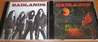 2CD set BADLANDS – Badlands 1989 & Voodoo Highway 1991